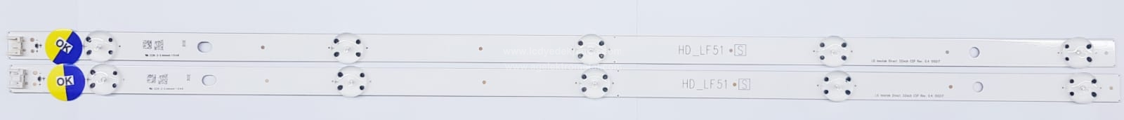 LG INNOTEK DIRECT 32INCH CSP REV. 0.4 , REV0.5 , 150217 , HD_LF51 , LG , HC320DXN-ABVS4-5112 , EAJ63771001 ,32LF510 , 2 ADET LED ÇUBUK