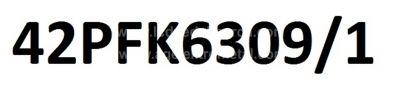 LG , LC420DUN PG P1 , PHILIPS , 42PFK6309 , /12 , 42 V14 DRT REV0.0 , 6916L-1455B , 6916L-1456B , 6916L-1457B , 6916L-1458B , 8 ADET LED ÇUBUK