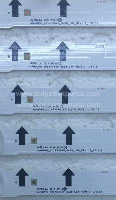 SAMSUNG , CY-GH040BGLV2H , CY-GH040CSLV2H , UE40H5570 , UE40H6470 , Samsung_2014SVS40_3228_L06_REV1.1_131112 , LM41-00041P , Samsung_2014SVS40_3228_R03_REV1.1_131112 , LM41-00041N , 10 ADET LED ÇUBUK