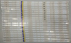 SONY - NLAW00477L , NLAW00477R , 80114101-0491 , 223 , 80113102-0264 , YD8S009DND01B , A2193303A , 20 ADET LED ÇUBUK