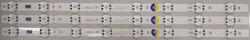 LG - SSC_TRİDENT_55UK63_S , SSC_55UK63_8LED_SVL550AS48AT5_REV1.0_171201 , NC550DGG-AAGP1 , EAJ64690101 , 3 ADET LED ÇUBUK