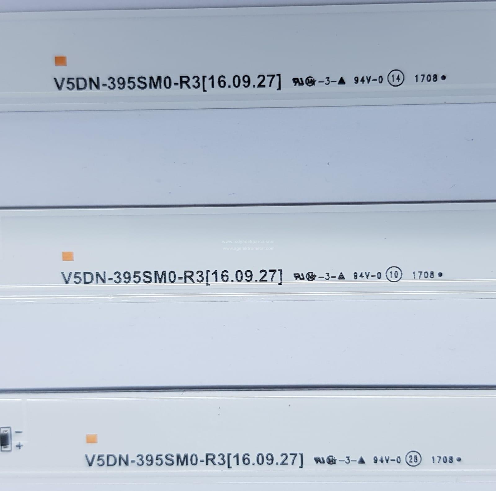 V5DN-395SM0-R3 , SAMSUNG , BN95-04619A , CY-JJ040BGNV6V , CY-JM040BGNV5H , 40J5270 , UE40M5000 , 40BGNV5H , 3 ADET LED ÇUBUK