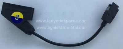 VESTEL , Scart Socket Adapter Cable , Skart Soket Kablo