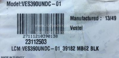 VESTEL , VES390UNDC-01 , 39182 SATELLITE , VESTEL REV0.2 , C TYPE , 5 ADET LED ÇUBUK