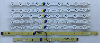VESTEL , VES390UNDC-01 , 39PF3025D 39 LED TV , 39226B FHD , LG INNOTEK 39FHD-C NDV REV0.2 , A TYPE , C TYPE , 5 ADET LED ÇUBUK